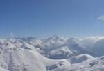 Poslední pohled z Pic Blanc a vzhůru na Sarenne :)