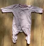 Pruhované pyžamko, bavlna. Vel. 0 - 3 měs.